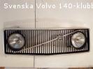 Komplett GT grill till årsmodell 1972
