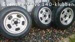 Aluminiumfälgar 140, Tuna / Mags.